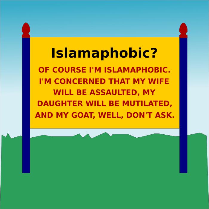 islamaphobic